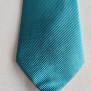 Corbata color azul