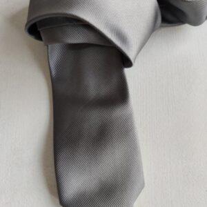 Corbata color gris