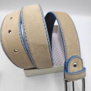 Cinturón de caballero en beig