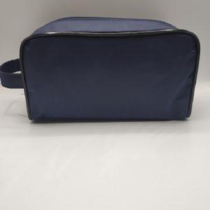 Bolsa de aseo azul marino