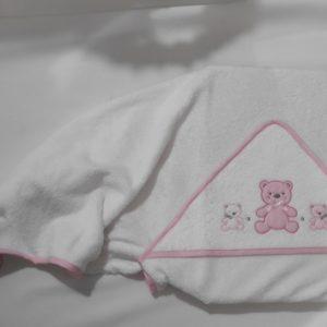 Capa de baño para bebe
