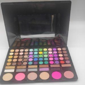 Paleta maquillaje con 78 colores