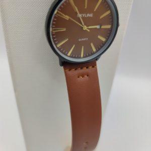 Reloj de hombre marrón