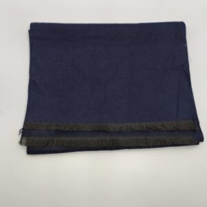 Bufanda azul marino lisa
