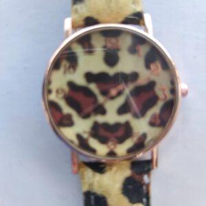 Reloj de chica en animal print