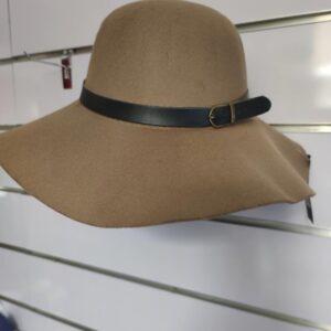 Sombrero camel de señora