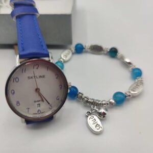Regalo mujer pulsera y reloj