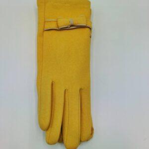 Guantes amarillos de chica