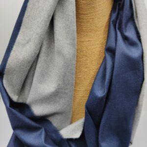 Bufanda azul marino