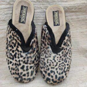 Zpatillas mujer estampado leopardo