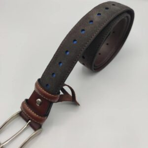 Cinturón de piel de hombre
